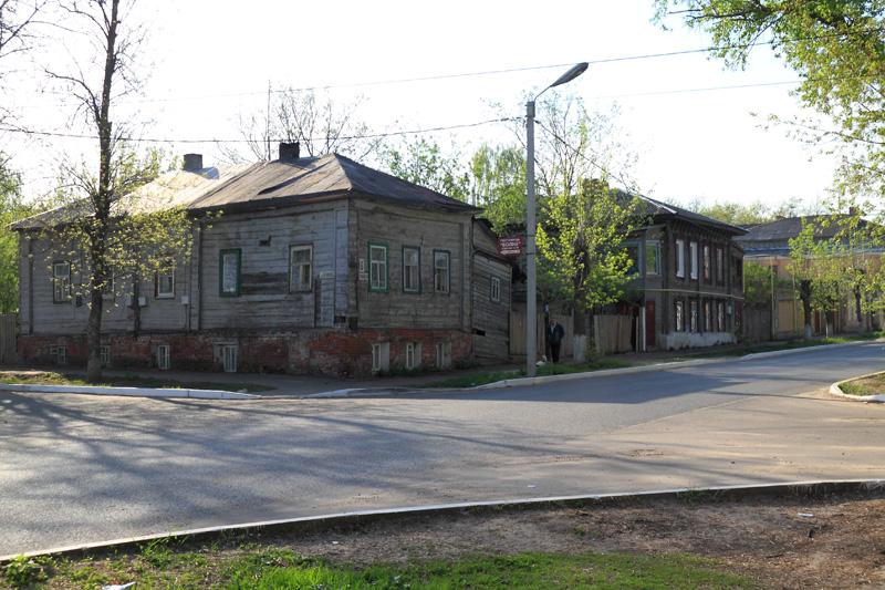 Муром, старые дома