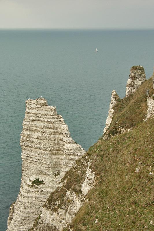 Скалы и море, Этрета