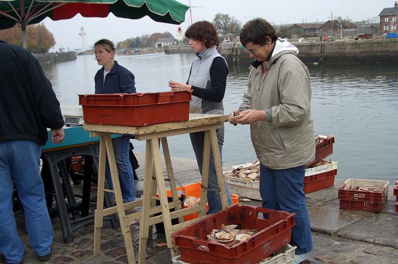 Рыбный рынок, Онфлёр