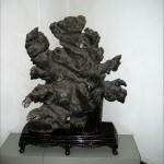 Музей камней и торговая улица в парке на Змеиной горе (Шэшань) в Ухани