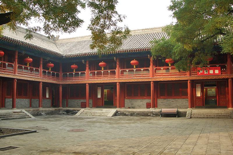 Выставка фольклора, храм Дунъюэ