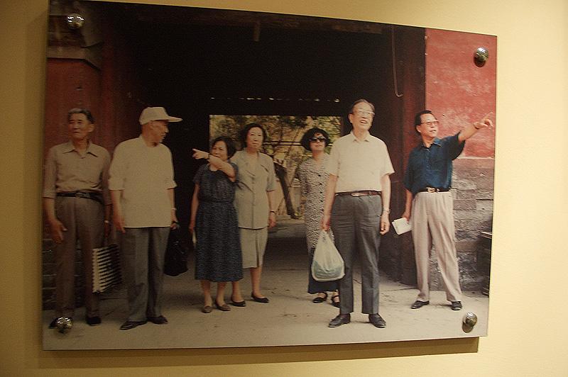 Реставраторы храма Дунъюэ