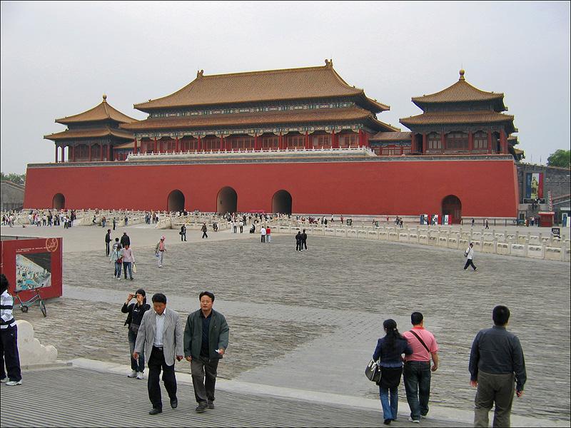 Ворота Умэнь, Гугун, Пекин