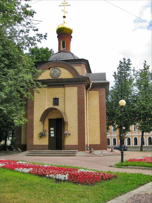 Часовня Святого благоверного князя Игоря Черниговского, Пушкин