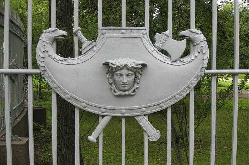 Ограда Екатерининского парка
