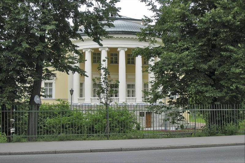Дача Кочубей (Запасный дворец), Пушкин