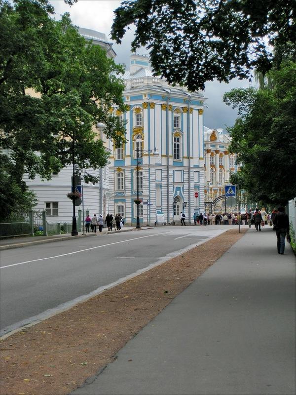 Пушкин, Лицей, Екатерининский дворец