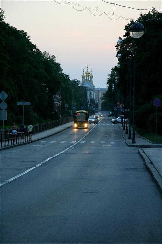 Садовая улица, Пушкин