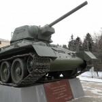 Музейный комплекс «История танка Т-34″ в Шолохово
