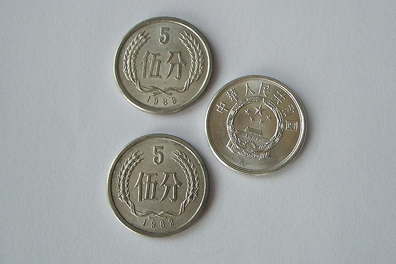 монеты китая современные фото