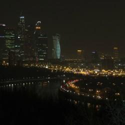 Москва-Сити, Воробьевы горы