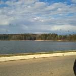 Поездка на Рузское водохранилище