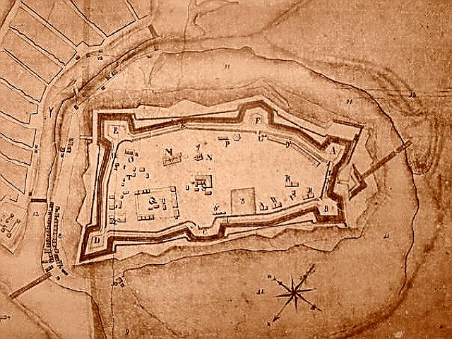 План Великолукской крепости (60-е годы XVIII в.)