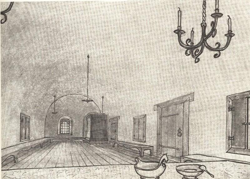 Повалуша в старой части дома Печенко