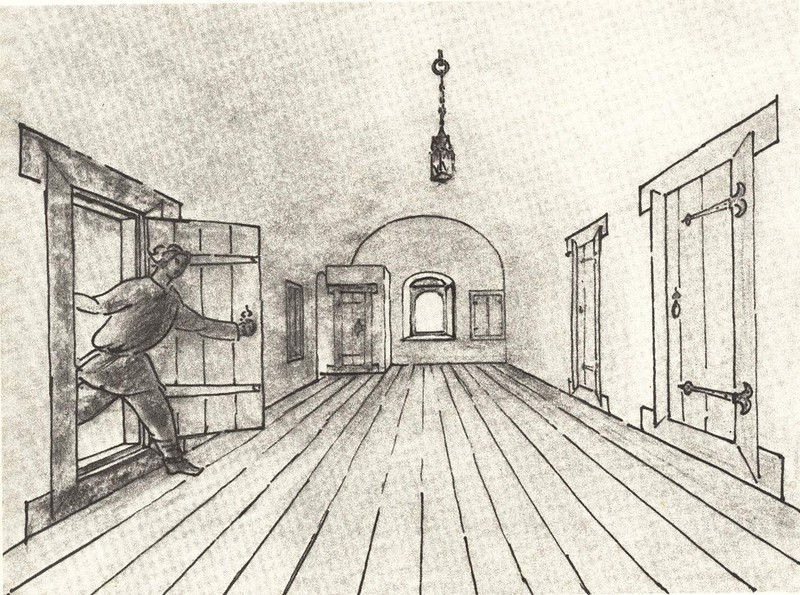 Сени в новых палатах дома Печенко