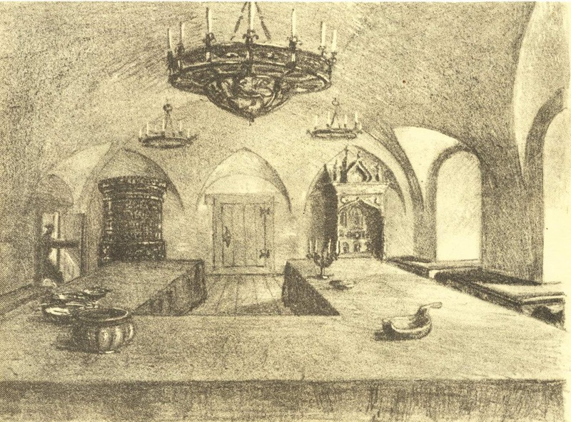 Столовая палата в доме Меньшиковых