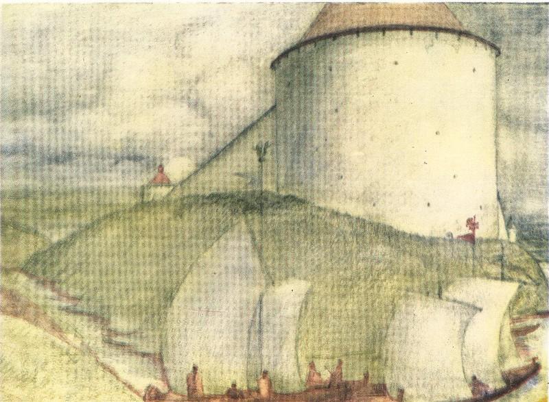 Варлаамская наугольная башня