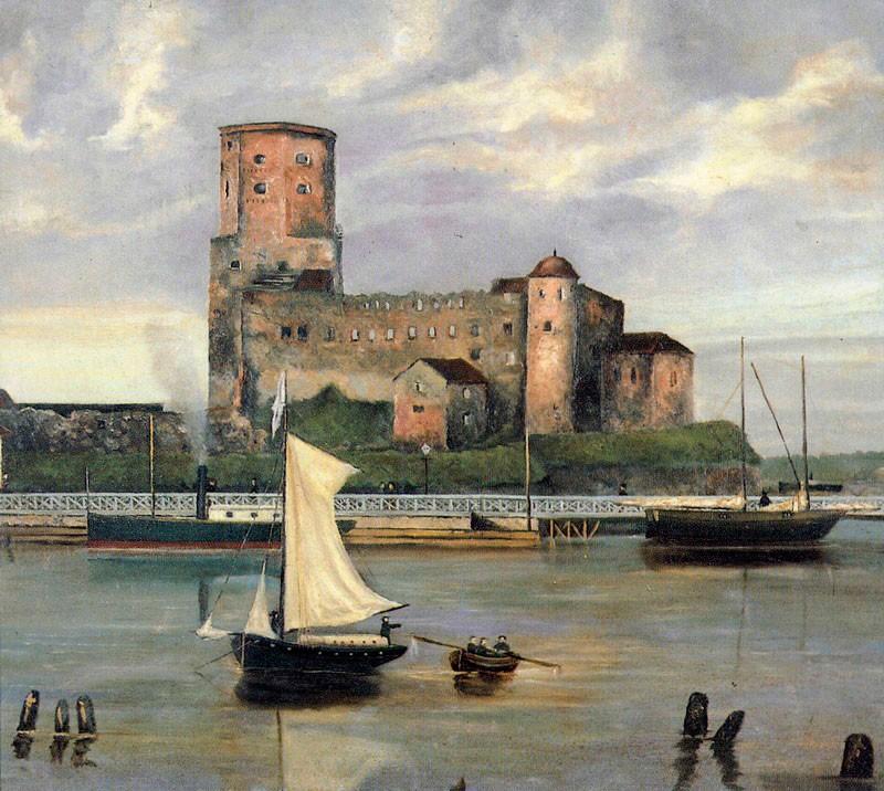 Выборгский замок в конце XIX века