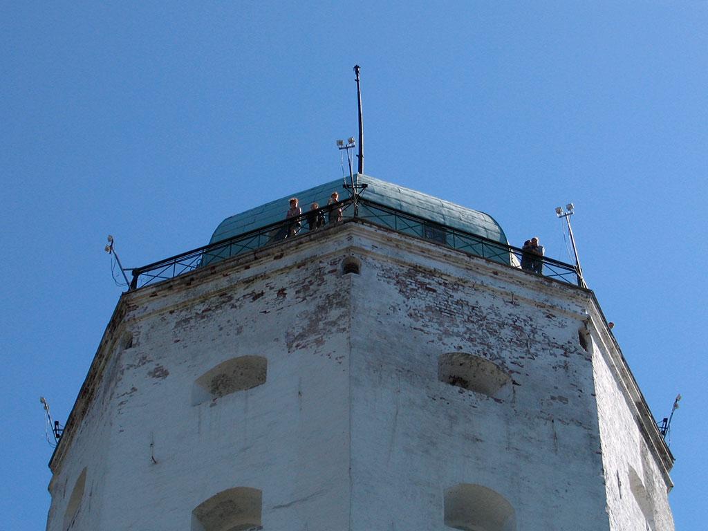 Смотровая площадка башни Святого Олафа, Выборгский замок