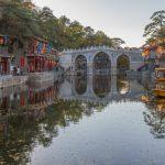 Улица Сучжоу в парке Ихэюань: яркое развлечение императорского двора