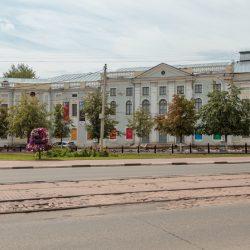 Площадь Ленина, Восьмиугольная площадь, Тверь