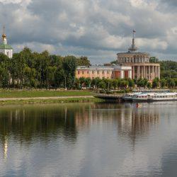 Речной вокзал, Отроч монастырь, Тверь